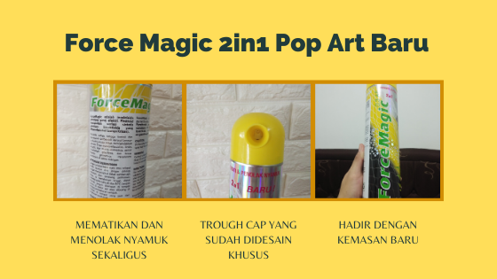 Review Force Magic 2in1 Pop Art Baru