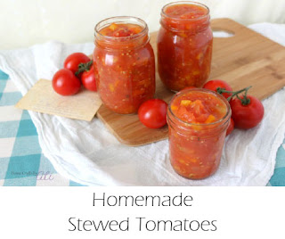 Homemade Stewed Tomatoes