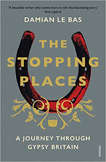 The Stopping Places book cover. Summer reading 2019