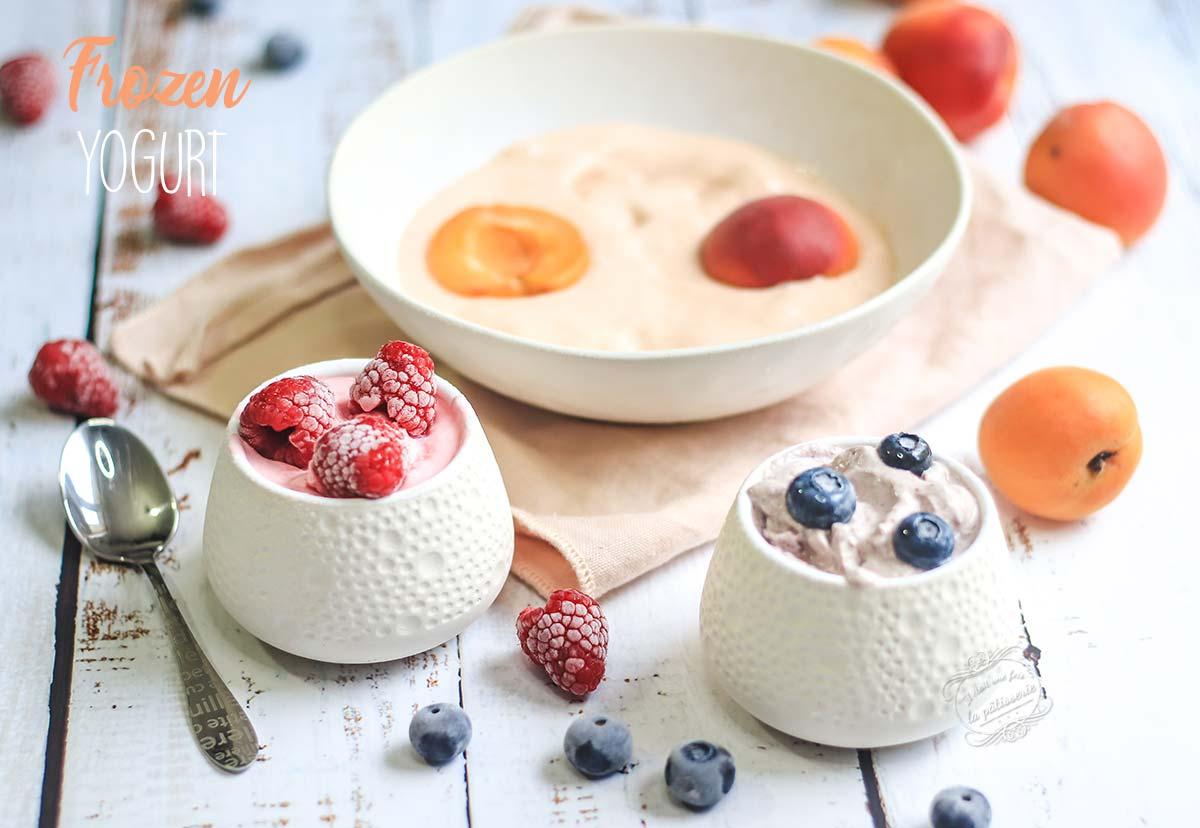 frozen-yogurt-recette