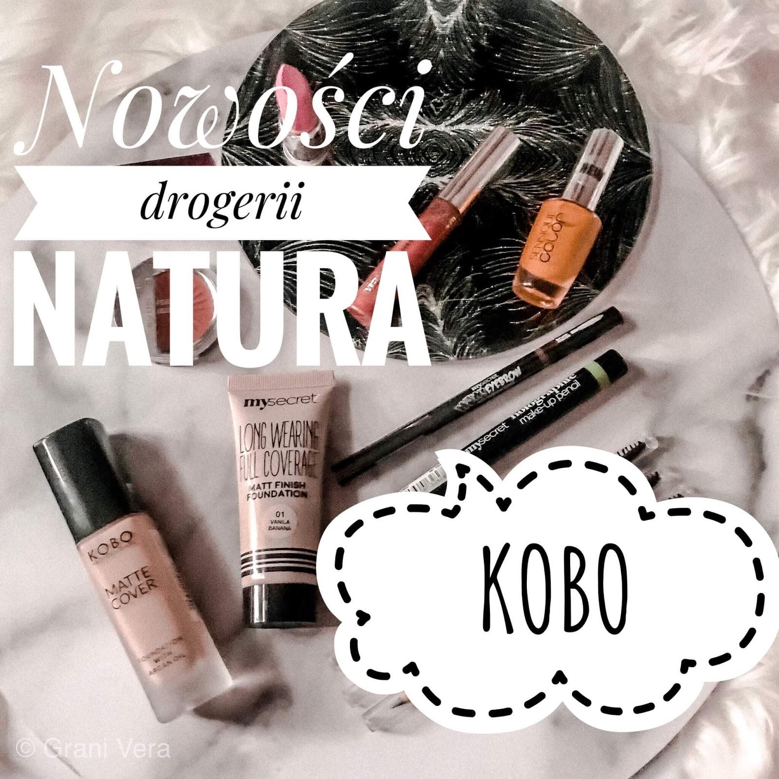 Nowości drogerii Natura - podkład KOBO Matte Cover