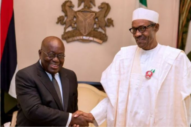 Akufo-Addo apologises to Muhammadu Buhari over demolition of property at Nigerian High Commissioner's residence