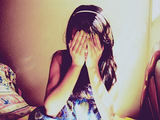 hidden face girl dp | hidden face pic for fb