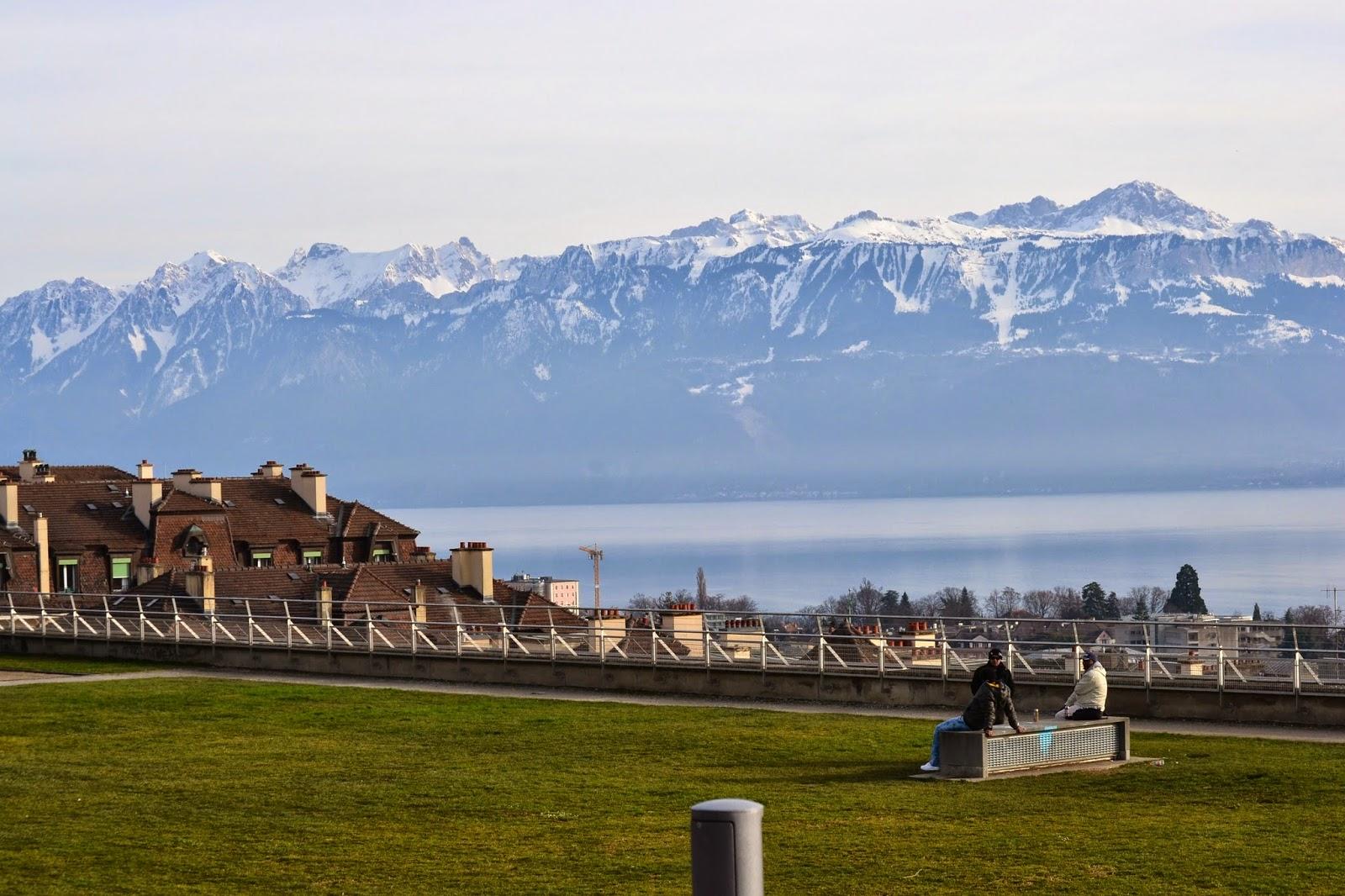 parque de montbenon lausanne suiza