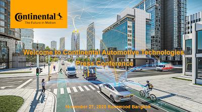 Continental Automotive Bangkok แถลงข่าวผลประกอบการประจำปี 2563 และนำเสนอนวัตกรรมและเทคโนโลยียานยนต์ล้ำสมัย