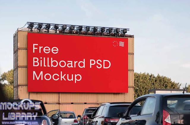 big billboard mockup free