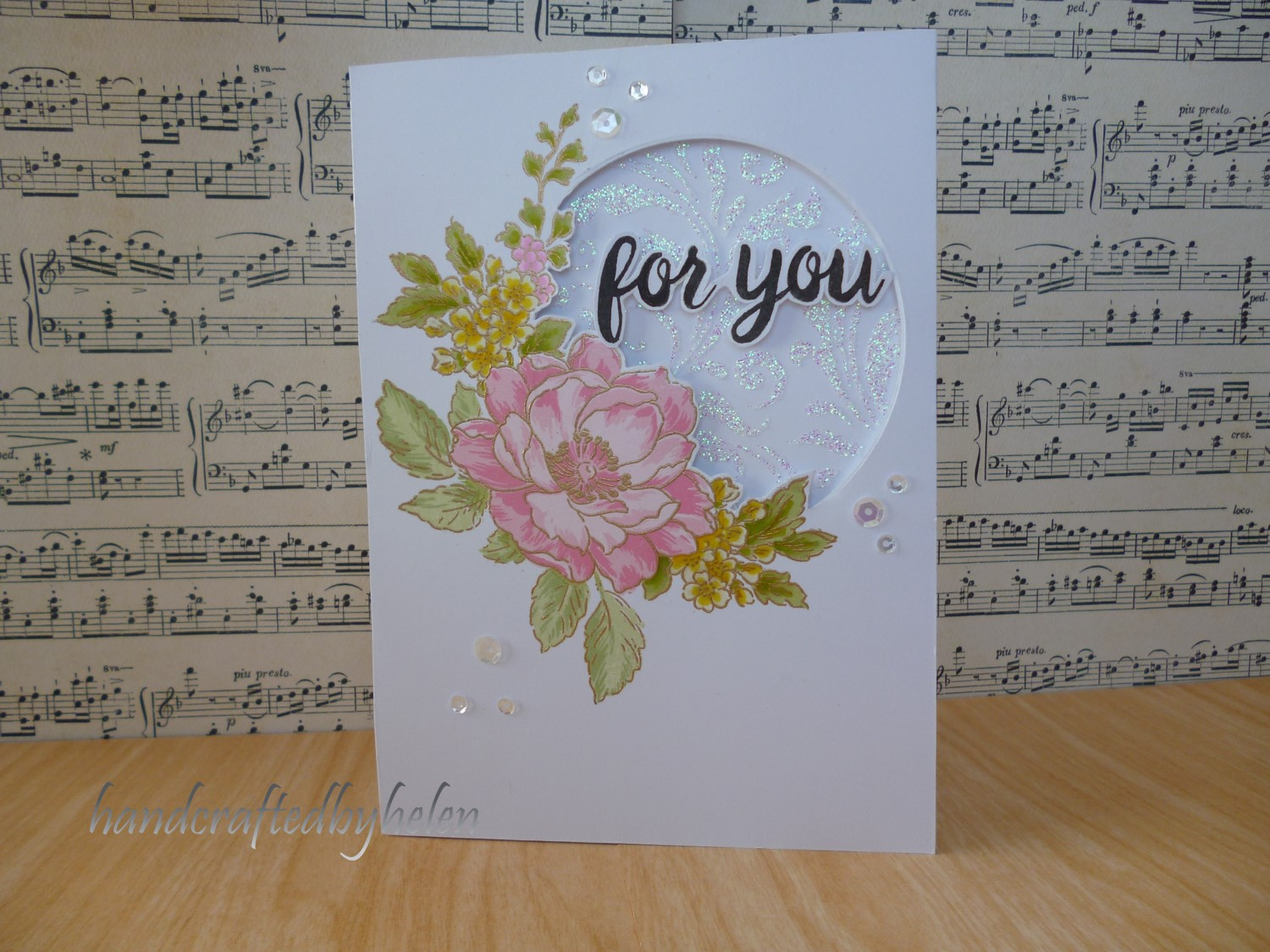 Handcrafted By Helen A Beautiful Day Card