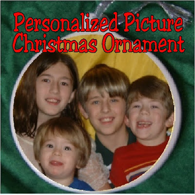 Personalize your Christmas tree with a picture of your kids! You'll have an easy DIY Christmas ornament and a great memory of your kids for years to come!