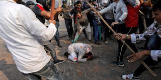 muslim india dipukul