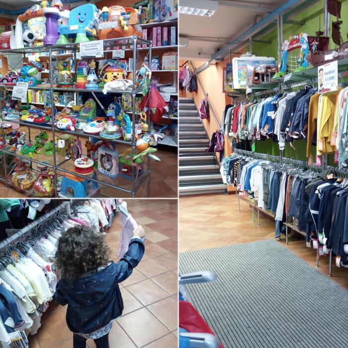 Baby Bazar articoli e giocattoli per bambini usati presso Villa guardia