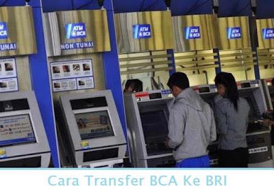 Cara Transfer BCA Ke BRI