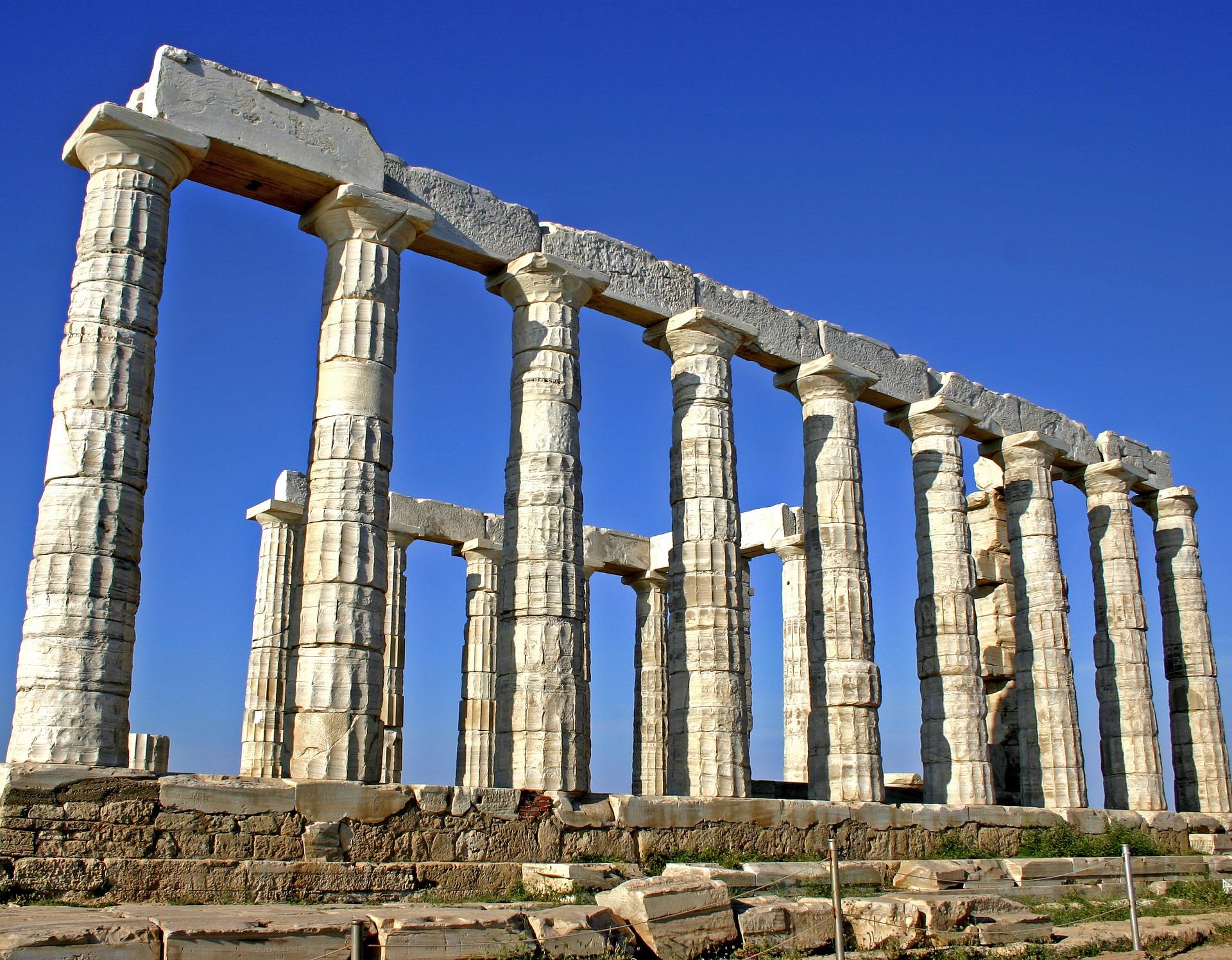Greece Poseidon Temple