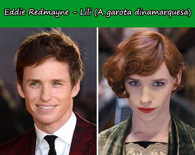 Eddie Redmayne - Lili (A garota dinamarquesa)