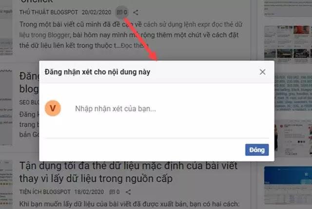 Hướng dẫn thiết kế blogspot căn bản - Tạo nút đăng nhận xét với hiệu ứng popup