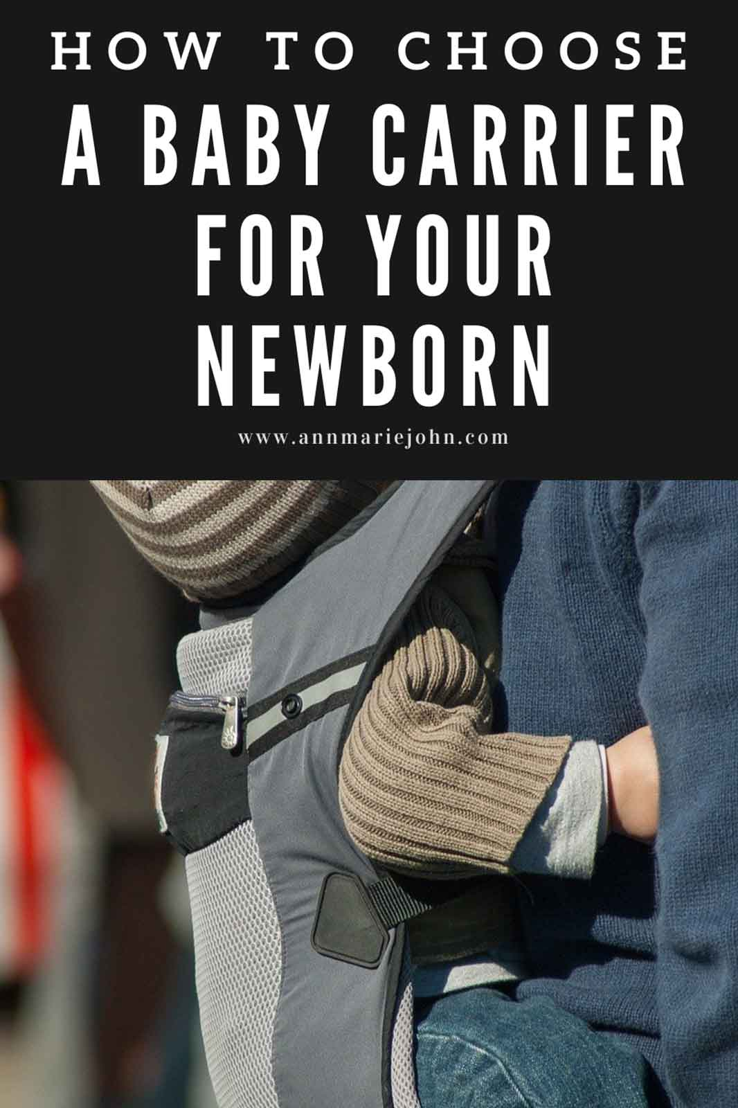 How to Choose a Baby Carrier for a Newborn