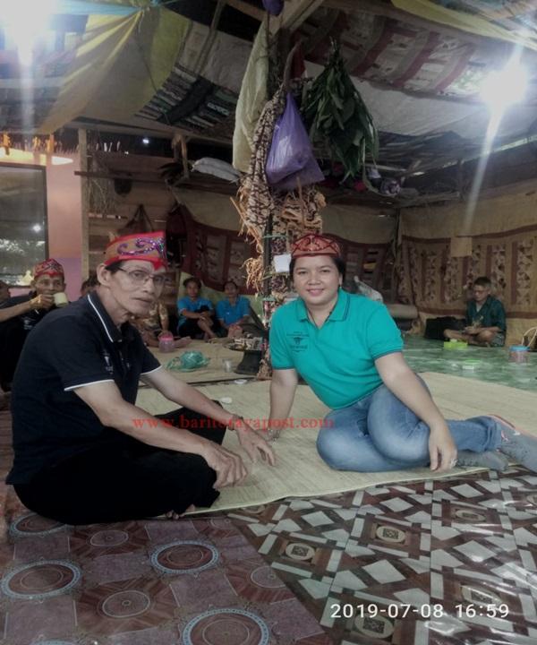 Bentuk Kepedulian Anggota DPRD Bartim Yang Terus Melestarikan Budaya Adat Asli Dayak Maanyan