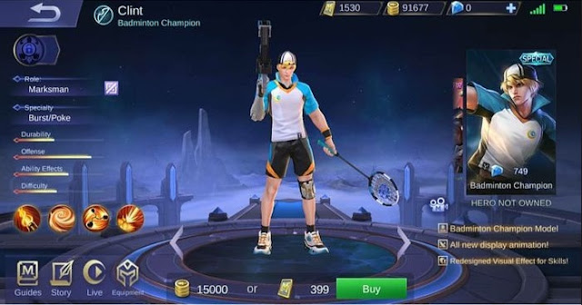 Clint - Skin Special