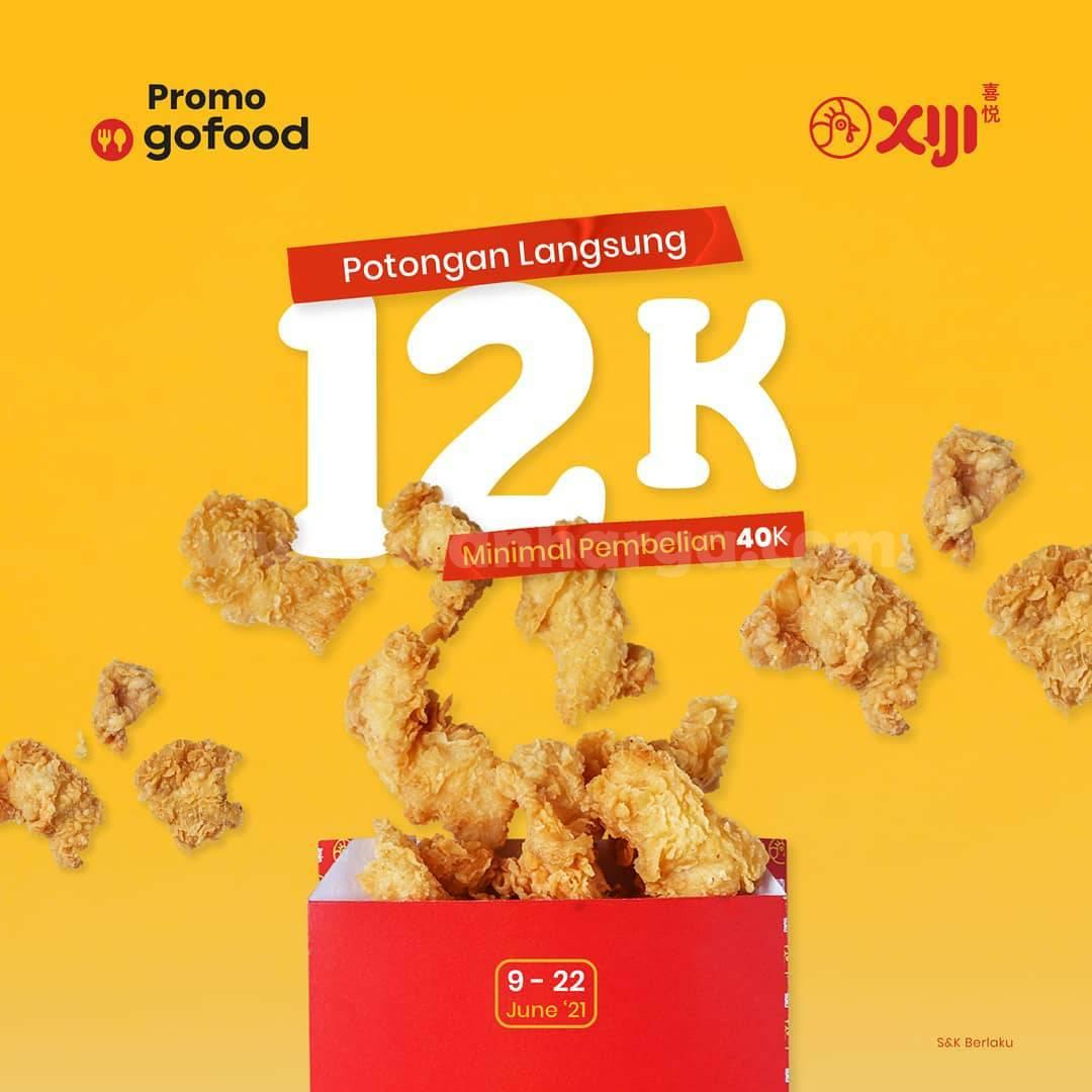 Xiji Streetsnack Promo Gofood Diskon Potongan Langsung 12K