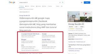 Tips Dan Cara Membuat Sitelink Blogger