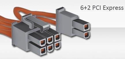 Conector 6+2 PCI Express