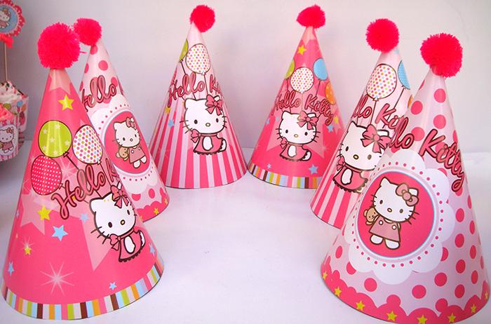 Mua mũ giấy sinh nhật chủ dề Kitty