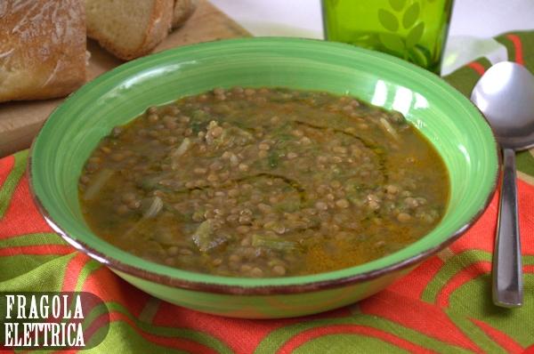 Zuppa di Lenticchie e Scarole