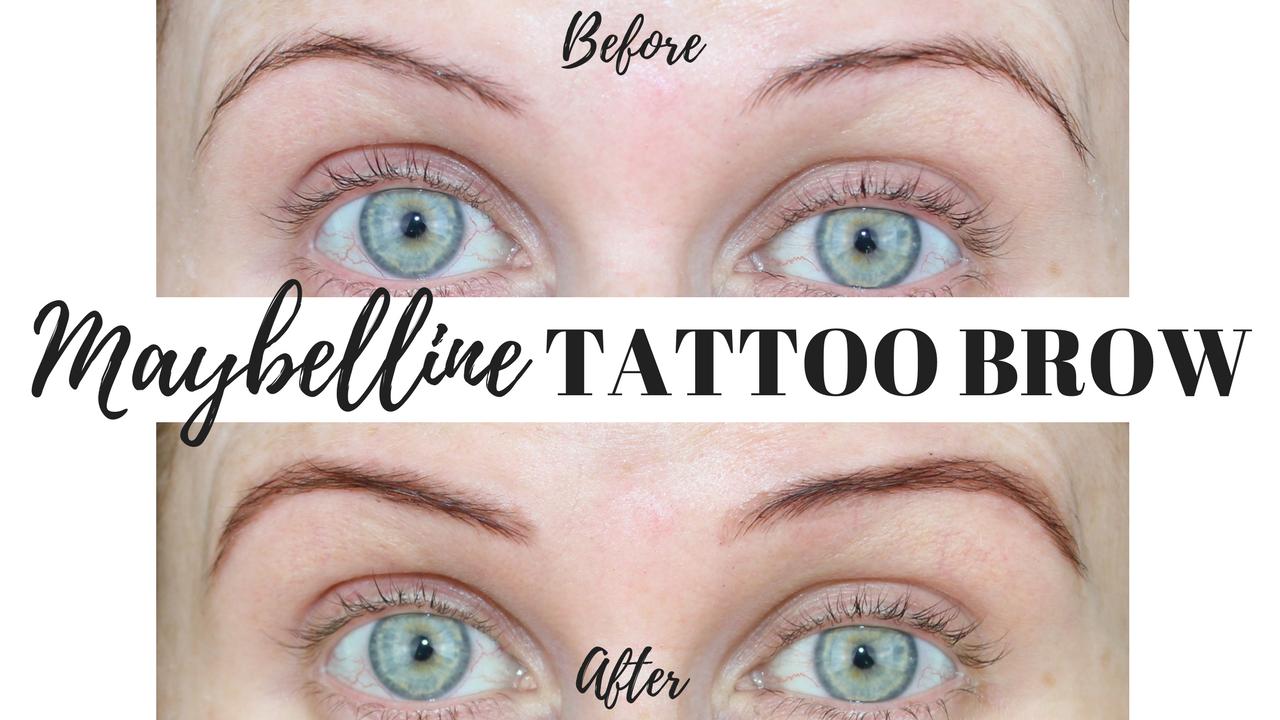 Makeup revolution brow tint medium brown review