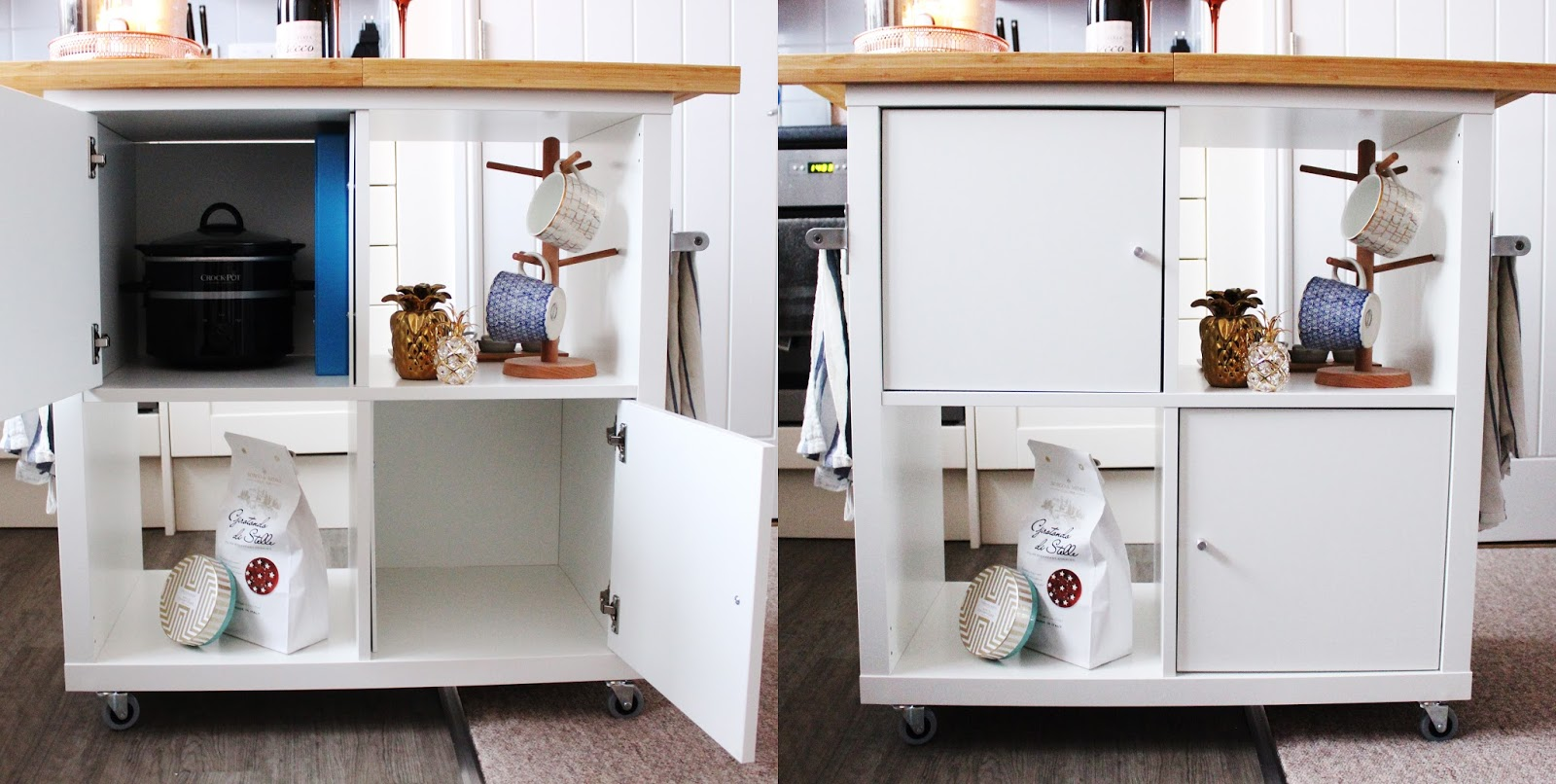 Simple Ikea Kitchen Island Hack By Jen Lou Meredith In Ideas