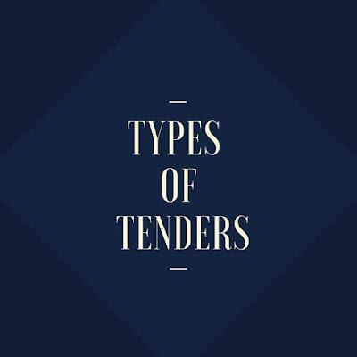 Types Of Tenders