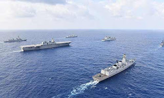 Indian Navy conducted Naval Exercise at Andaman and Nicobar Island