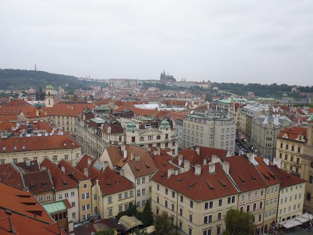 Vistas desde la Torre del Ayuntamiento Viejo de Praga