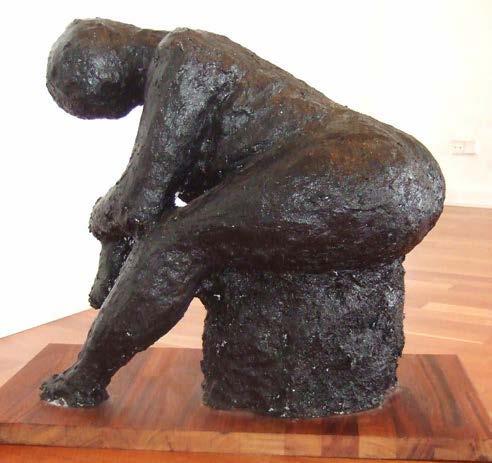 Mette Fischer, kvindeskulptur