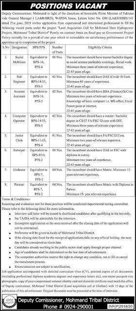 Wapda Pakistan Water And Power Development Authority Govt Jobs 2020
