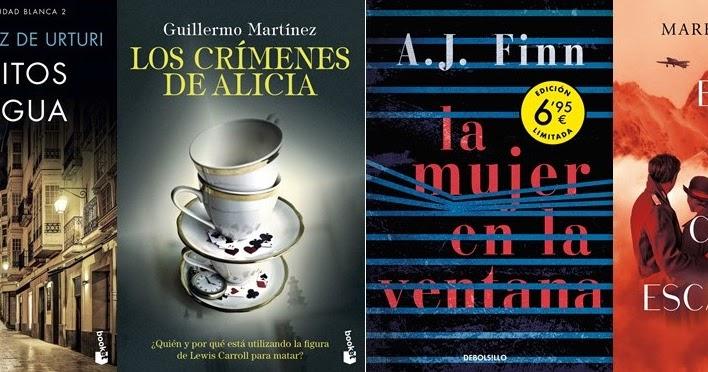 El Búho entre libros: NOVEDADES DE BOLSILLO 2020/4