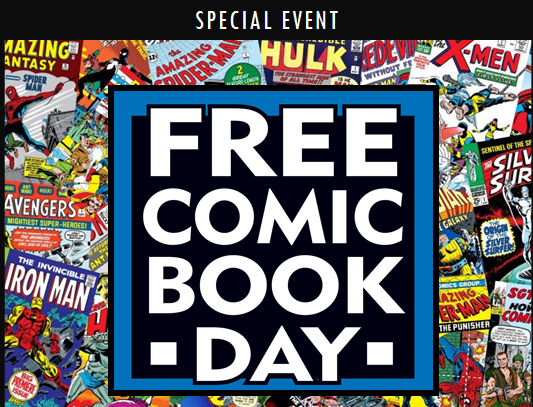 National Comic Book Day Wishes Images download
