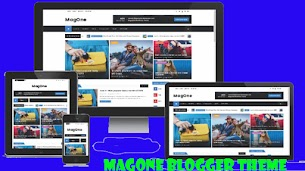 MagOne Premium Blogger Theme Responsive - Responsive Blogger Template