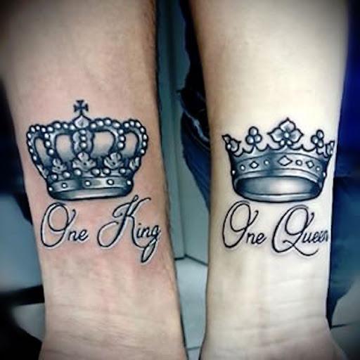 Um rei, uma rainha