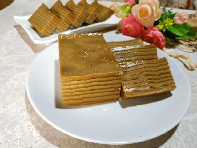 Resep Kue Lapis India