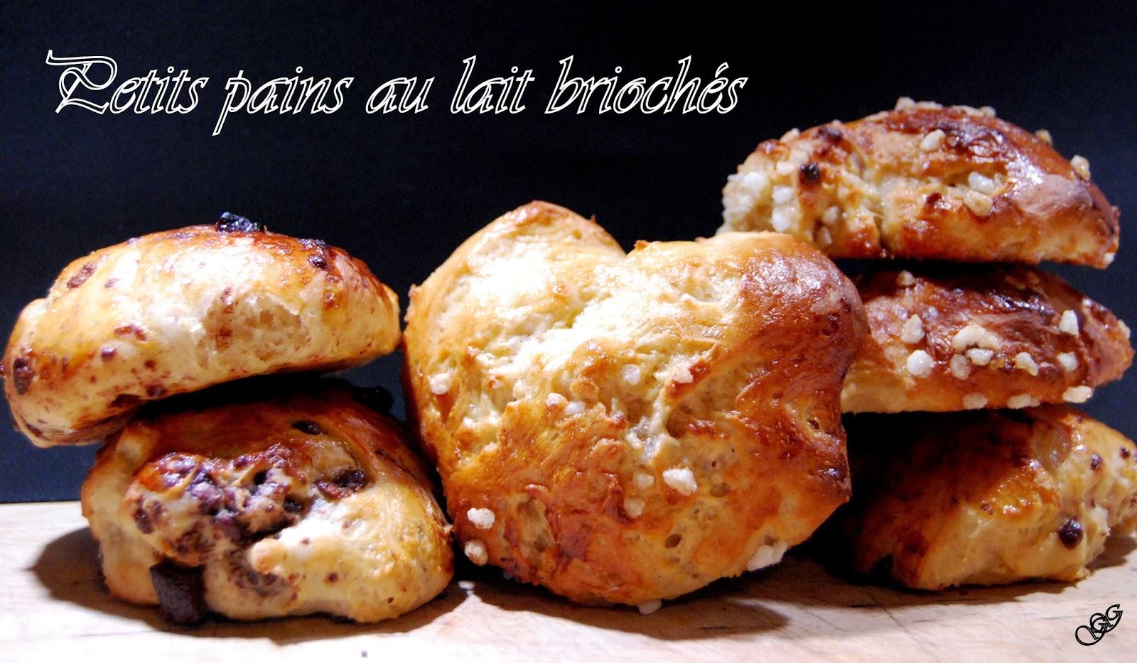 Petits pains au lait briochés