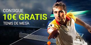 Luckia Consigue 10€ con el Tenis de mesa