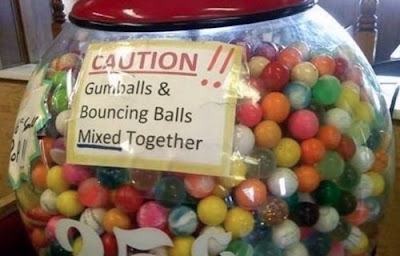 Funny Signs Gumballs