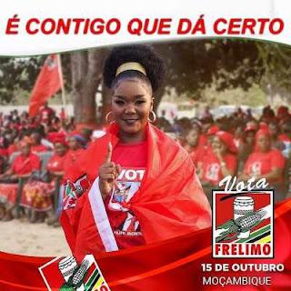 Marllen - Vota Frelimo e Nyusi