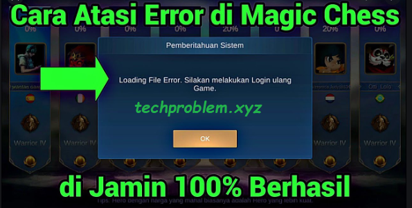 Cara Atasi Error di Magic Chess Mobile Legends Work 100%
