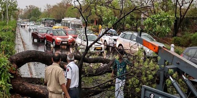 मौसम का कहर: 8 राज्य, 35 मौतें, मप्र, गुजरात और राजस्थान में भारी तबाही | INDIAN WEATHER REPORT PHOTO VIDEO