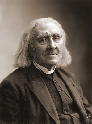 Liszt in March 1886, four months before his death, photographed by Nadar