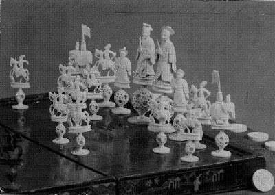 Juegos de ajedrez antiguo