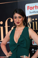 Laxmi Rai in a Deep neck Beautiful Green Gown Cute Actress Laxmi Rai ~  086.JPG