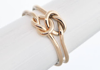 love knot rings, gold rings, solid gold rings, stackable rings, gold stacking rings
