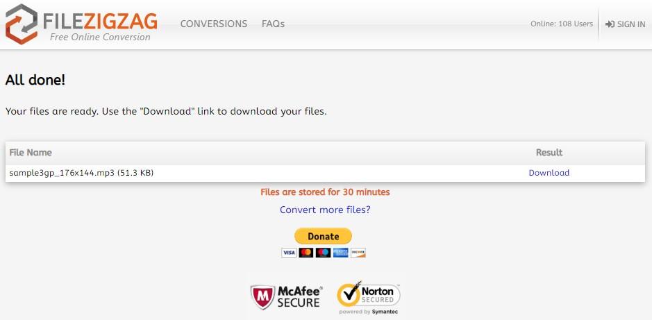 Free yet Powerful 3GPP to MP3 Converter