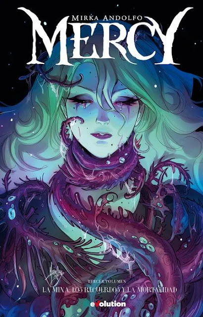Review del cómic Mercy Vol.3 de Mirka Andolfo - eVolution Comic